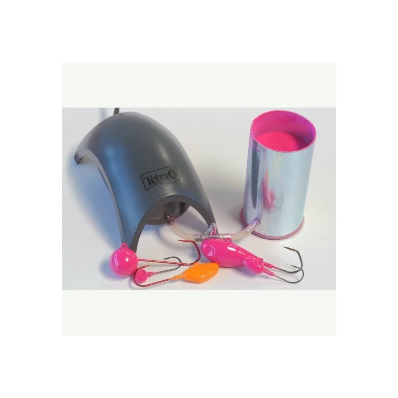 Dispozitiv vopsire in pat fluidizat Junior
