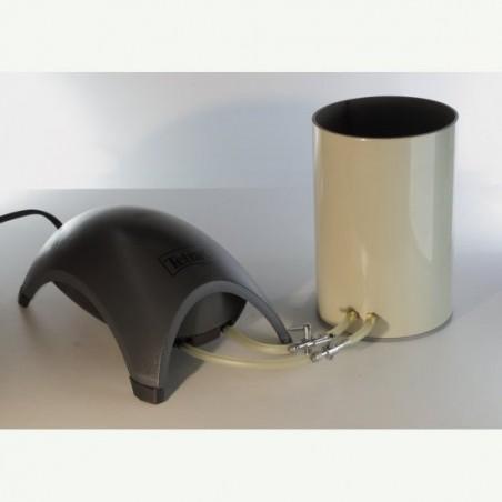 Dispozitiv vopsire in pat fluidizat xl