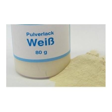Vopsea pulbere alb 80 g