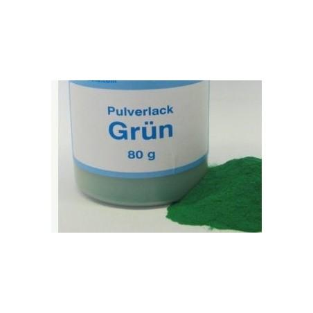 Vopsea pulbere verde 80 g