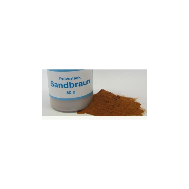 Vopsea pulbere maro nisip 80 g