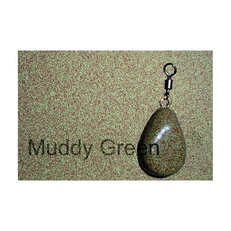 Plastifiant camuflaj plumbi muddy green