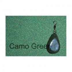 Plastifiant camuflaj plumbi camo green